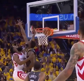 James Harden dunk on draymond Green 😱😱